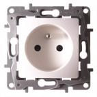 Gniazdo 2P+Z 16A (bez przesłony styków, zaciski śrubowe) - Niloe ECO