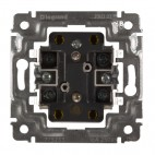 Gniazdo wtyczkowe podwójne 2x2P+Z 16A - 250 V~ - Sistena Life